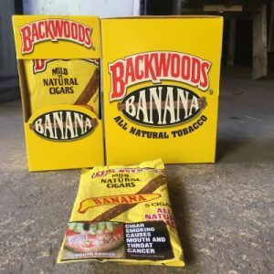 banana backwoods box is one of the highly sought wraps out there. They are rare and exotic since they aren't available in the US. Our banana backwoods box terpenes make it . Possible to try this unique flavor for yourself ,without having to travel out of the country. hence If you're lucky enough to consume a Banana Backwoods . Before, it blows you away by how exact . Our terpene enhanced flavors are to the real thing. Flavors: earthy, creamy, banana, tobacco